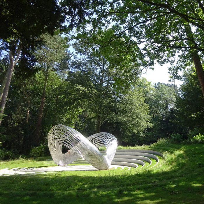 Sousse and Bardo Memorial – 'Infinite Wave'  Canon Hill Park Birmingham
